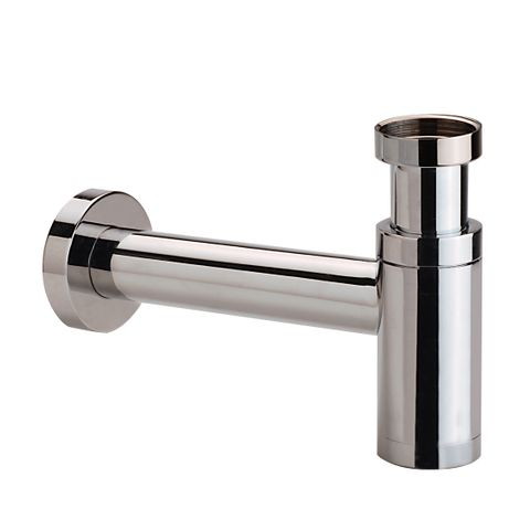 Hotbath Cobber P034 fonteinsifon rond glans nikkel
