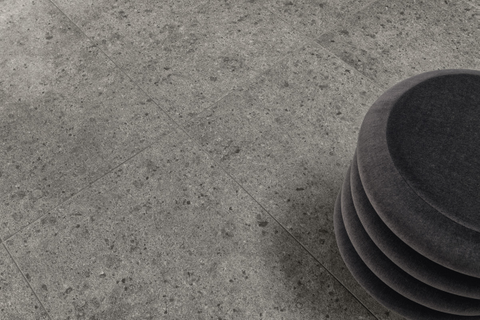 Villeroy & Boch Aberdeen tegelmat 30x30 cm. 7,5x7,5 doos a 11 stuks slate grey