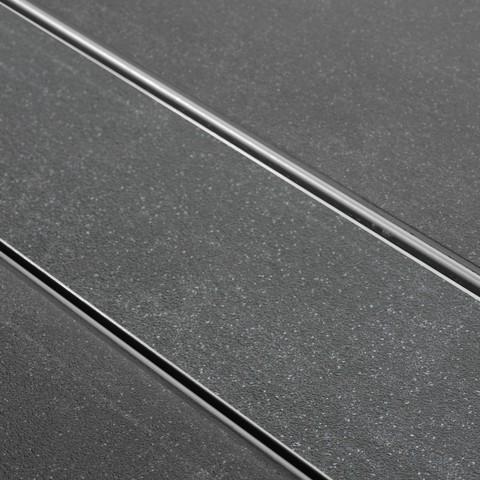 Easydrain Tegel-8 tegelrooster 70 cm. rvs