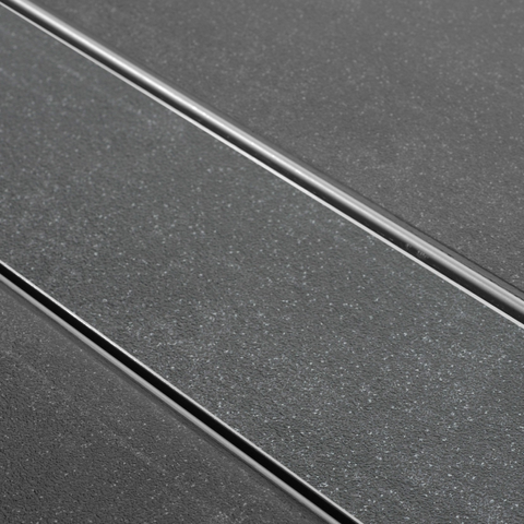 Easydrain Tegel-8 tegelrooster 60 cm. rvs