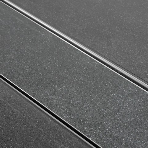 Easydrain Tegel-8 tegelrooster 90 cm. rvs