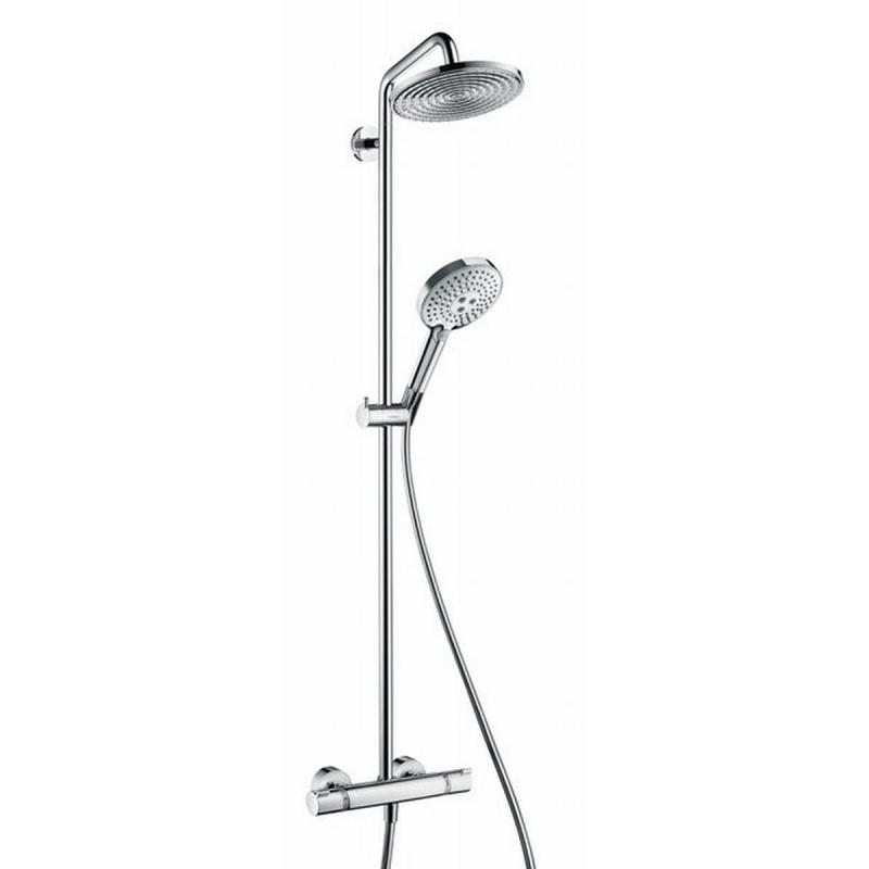 Hansgrohe Raindance S showerpipe 240 ecosmart chroom
