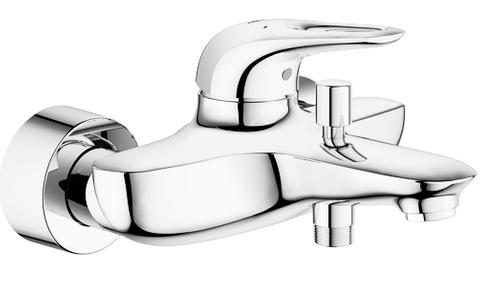Grohe Eurostyle New badkraan met omstel chroom