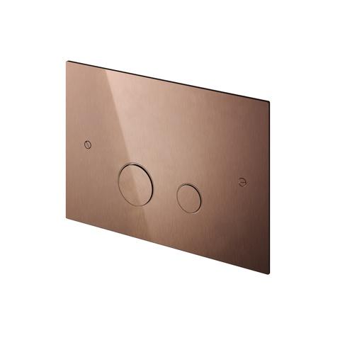 Hotbath Cobber CBA320 bedieningsplaat 2-knops mat zwart