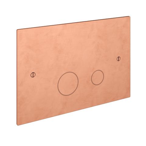 Hotbath Cobber CBA320 bedieningsplaat 2-knops geborsteld koper