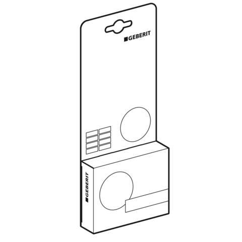 Geberit DuoFresh toiletsticks (8 stuks, voor 4 maanden)