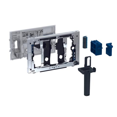 Geberit Duofresh toiletstickhouder - zonder geurzuivering - voor Duofix 8cm - antracietgrijs RAL 7016