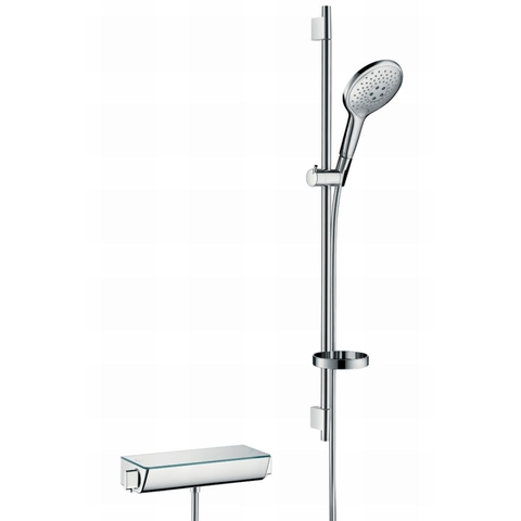 Hansgrohe Raindance Select S glijstangset 90cm - met ShowerTablet Select thermostaat - handdouche 150 3jet - chroom