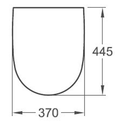 Geberit 300 Basic closetzitting met deksel topfix softclose wit