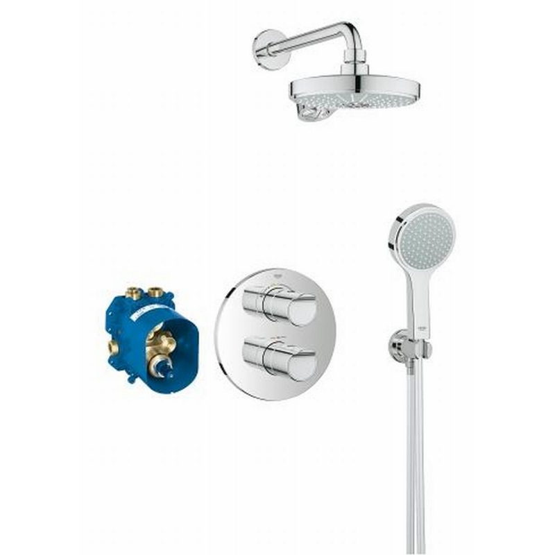 Grohe Grohtherm 2000 perfect showerset inbouw chroom