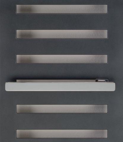Zehnder Metropolitan handdoekstang voor radiator 50 cm. breed chroom