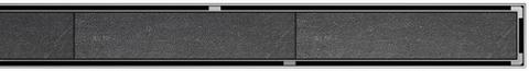 Aco Showerdrain C tile rooster voor douchegoot 118,5x7 cm. rvs
