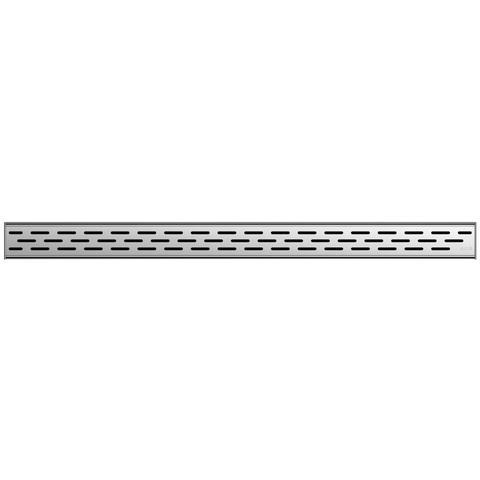 Aco Showerdrain C 1-delig slot rooster voor douchegoot 68,5x7 cm. rvs