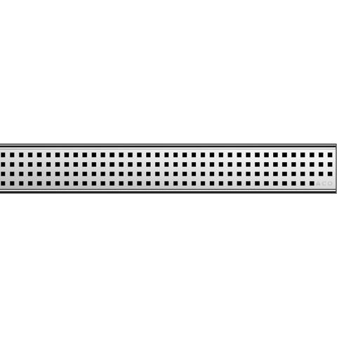 Aco Showerdrain C 1-delig square rooster voor douchegoot 78,5x7 cm. rvs
