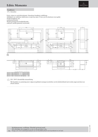 Villeroy & Boch Memento handdoekhouder 112x14 cm. edelstaal glans edelstaal glans