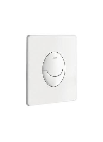 Grohe Rapid Sl bedieningsplaat sl dual flush verticaal wit