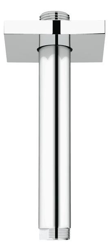 Grohe Rainshower plafond arm 15 cm. chroom