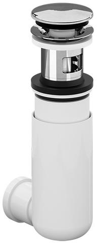 Villeroy & Boch  easyaccess sifon met push-open plug chroom