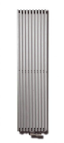 Vasco Zana Zv-1 radiator 384x1800 mm. n10 as=0066 1074w antraciet m301