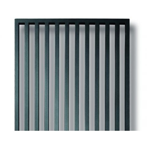 Vasco Arche Vv radiator 470x2200 mm. n10 as=1188 1279w wit ral 9016
