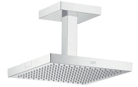 Axor Starck hoofddouche 24x24 cm. met plafondbevestiging chroom
