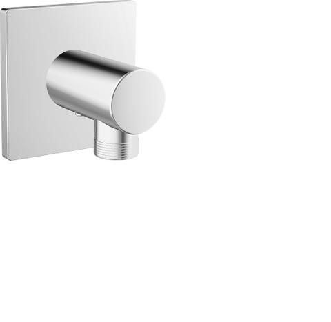 "Hansa Designo wandaansluitbocht 1/2"" chroom"