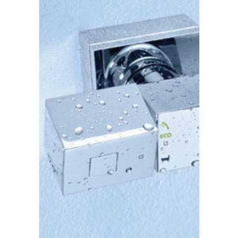 Grohe Grohtherm Cube douchethermostaat met tray en kopp. chroom