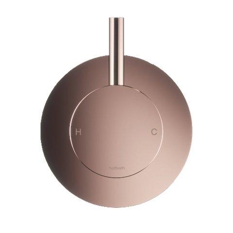 Hotbath Cobber CB031 afbouwdeel douche mengkraan roze goud