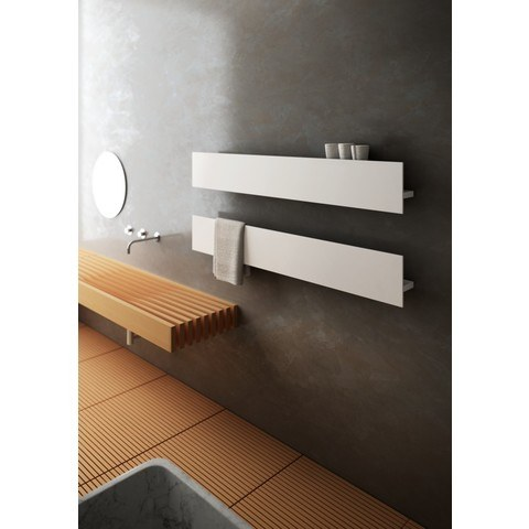 Instamat T1P radiator 1206x230 wit elektrisch incl bediening