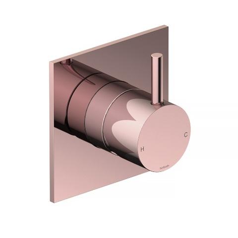Hotbath Cobber CB031Q inbouw mengkraan roze goud