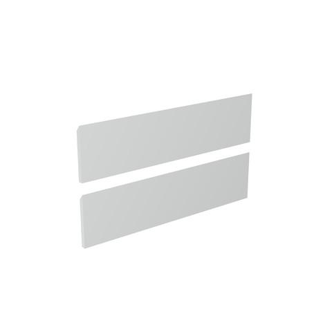 Blinq Tutto frontenset zonder greep 70x22 hoogglans wit