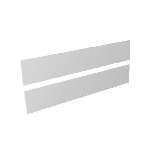 Blinq Tutto frontenset zonder greep 120x22 mat wit