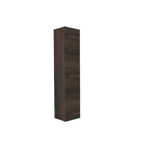 Blinq Tutto hoge kast zonder greep 1 deur 169x35 eiken tabacco