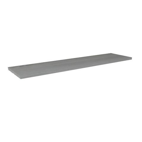 Blinq Tutto wastafelblad 32mm 160x45 essen grijs