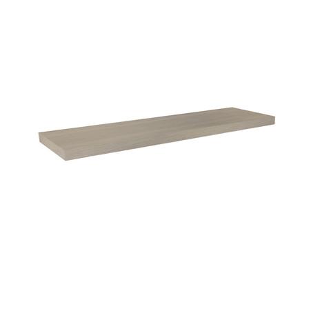 Blinq Tutto wastafelblad hout fineer 140x45 gebleekt eiken