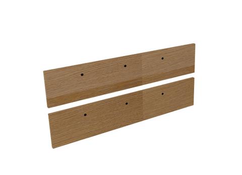 Blinq Tutto frontenset voor grepen 120x26 echt hout eiken