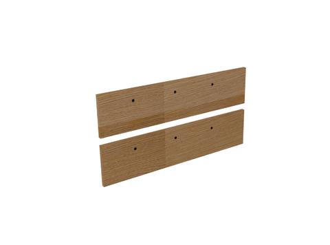 Blinq Tutto frontenset voor grepen 100x26 echt hout eiken