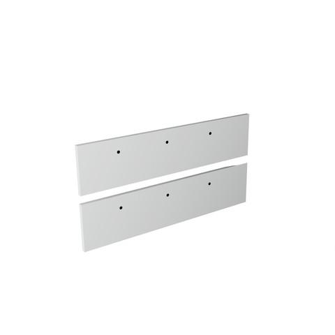 Blinq Tutto frontenset voor grepen 100x26 mat wit