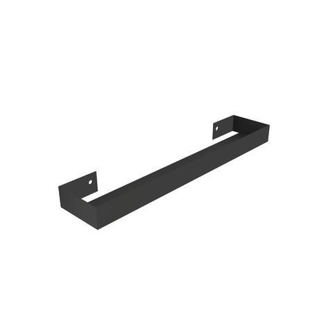 Blinq Tutto spiegelplanchet staal 60 cm 60x13x5 mat zwart