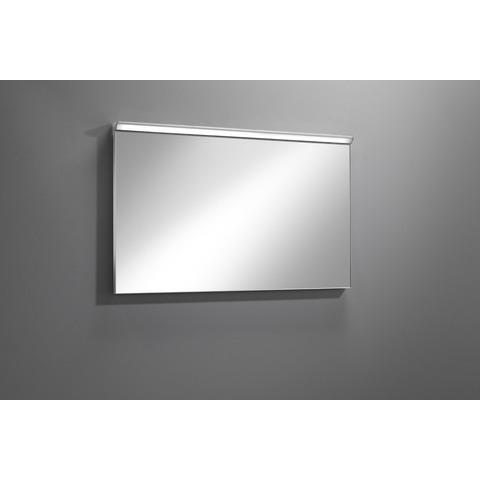 Blinq Tutto spiegel 60x60 cm. met led verlichting en dimmer zilver