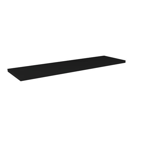 Blinq Tutto wastafelblad 32mm 140x45x3,2 mat zwart