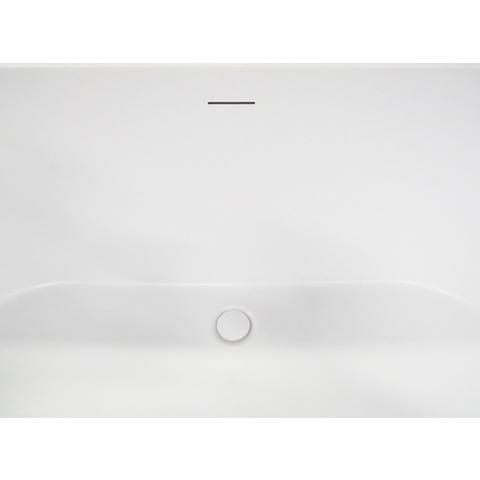 Wiesbaden Libero vrijstaand bad 178x80cm ovaal mat wit