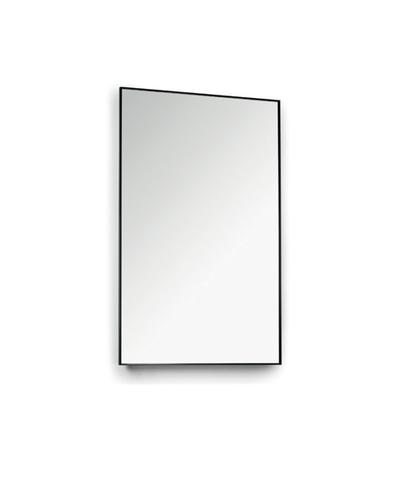 Blinq Tutto spiegel 120 x 80 cm. mat zwart