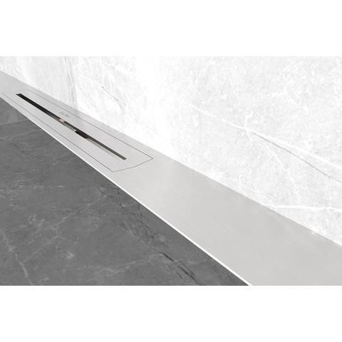 Easydrain R-Line douchegoot wall 120 cm complete set rvs