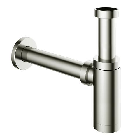 Hotbath Cobber P035 wastafelsifon rond glans nikkel