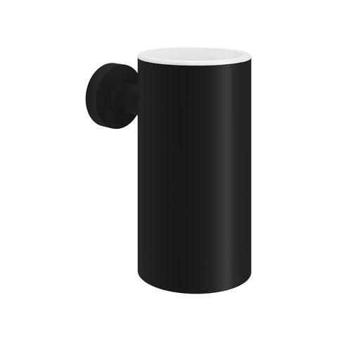Hotbath Cobber CBA01 tandenborstelhouder mat zwart