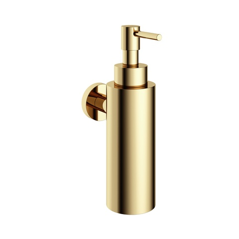 Hotbath Cobber CBA09 zeepdispenser wandmodel gepolijst messing