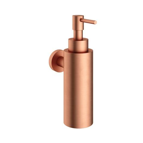 Hotbath Cobber CBA09 zeepdispenser wandmodel geborsteld koper