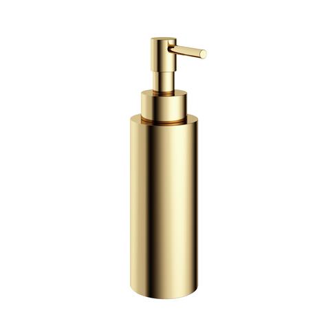 Hotbath Cobber CBA10 zeepdispenser vrijstaand gepolijst messing