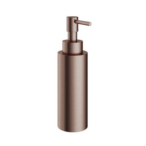 Hotbath Cobber CBA10 zeepdispenser vrijstaand geborsteld koper PVD